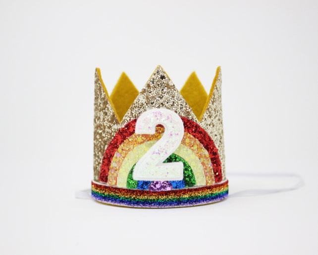 c70b4266ba3 Mini Silver Glitter Crown Headband