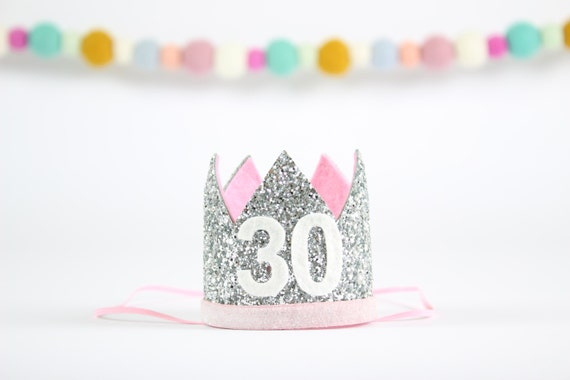 Flirty Thirty Crown 30th Birthday For Her