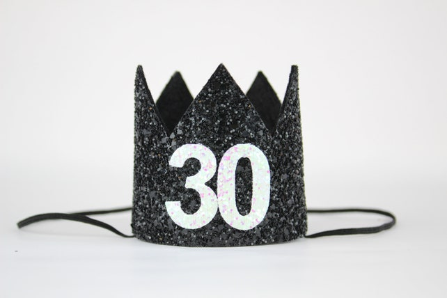 30th Birthday Crown