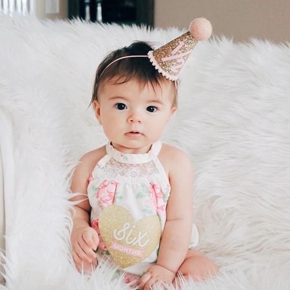 Half Birthday Hat For Baby Girl 1 2