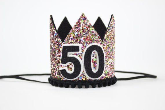 50th Birthday Crown Gift For Her