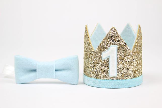 First Birthday Crown Boy