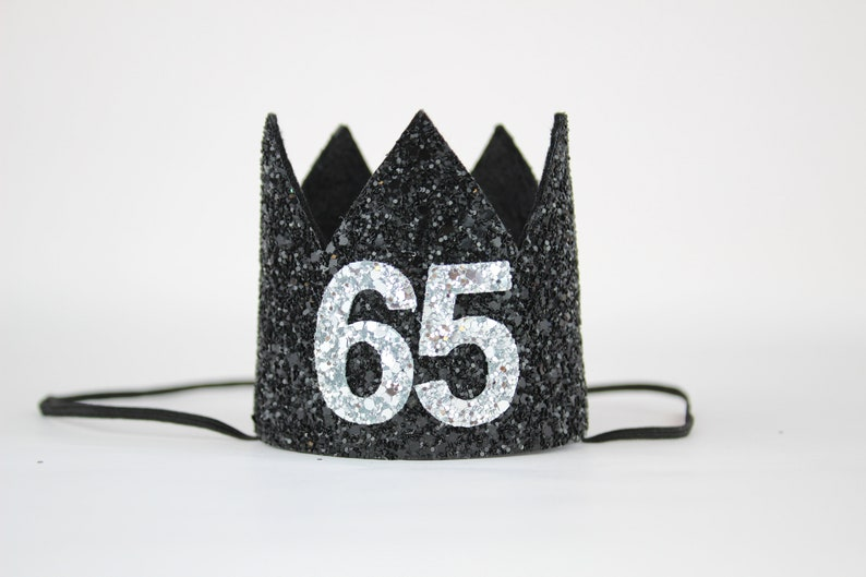 65th Birthday Crown Truning 65 Gift