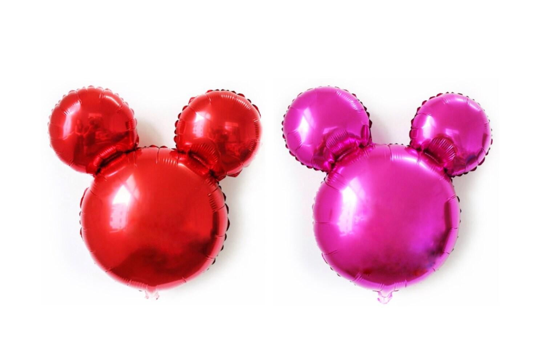 Mickey Mouse Balloon 25 inch Minnie Foil Birthday Balloon | Etsy