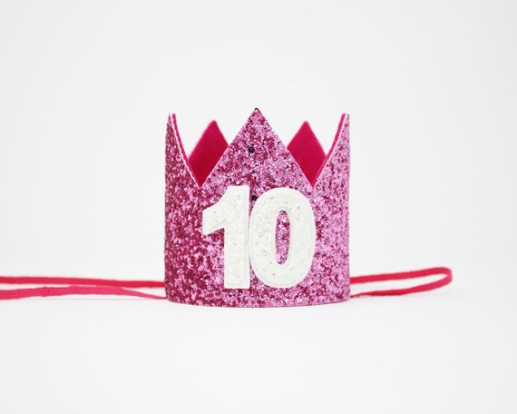 10th Birthday Crown Girl Hat For Her