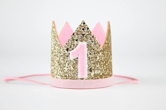 6c8441bd179 First Birthday Crown First Birthday Outfit Girl 1st