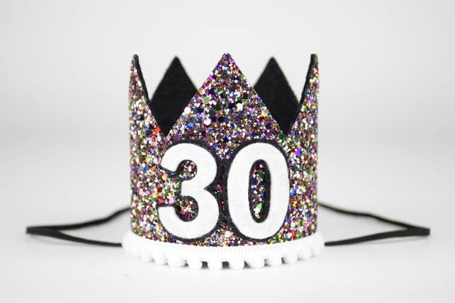 Flirty Thirty Crown