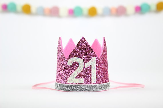 21st Birthday Crown Party Hat