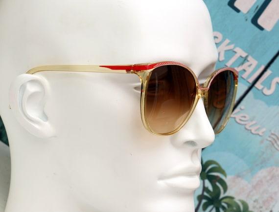 Vintage Sunglasses-Cool Look-Seventies-Big model