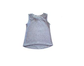 High-Low Tank Tunic Pattern, sizes 0-7 years,  PDF pattern, sewing pattern, sewing, instant download, pattern, digital download