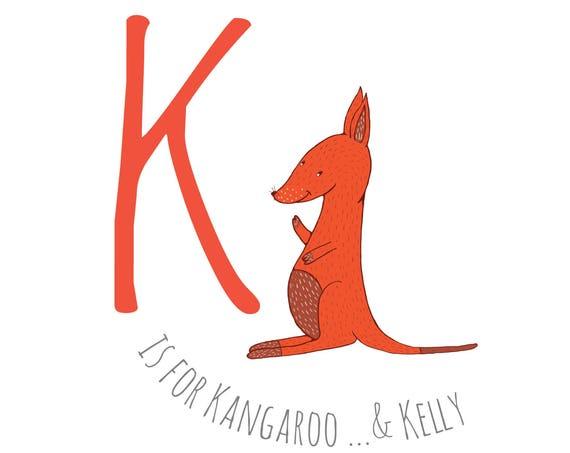 K is for Kangeroo...