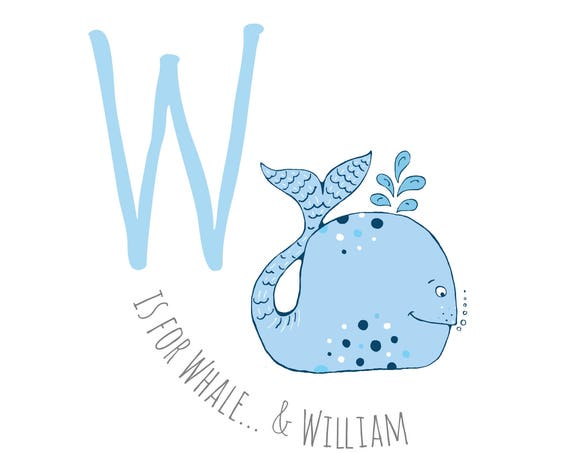 W is for Whale...