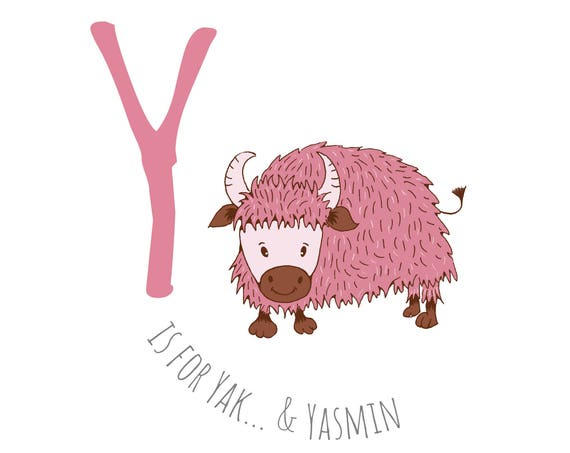 Y is for...Yak