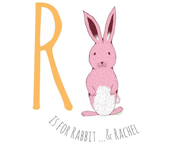 R is for Rabbit...