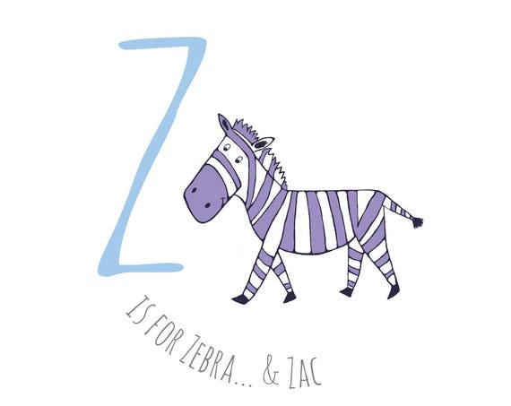 Z is for...Zebra