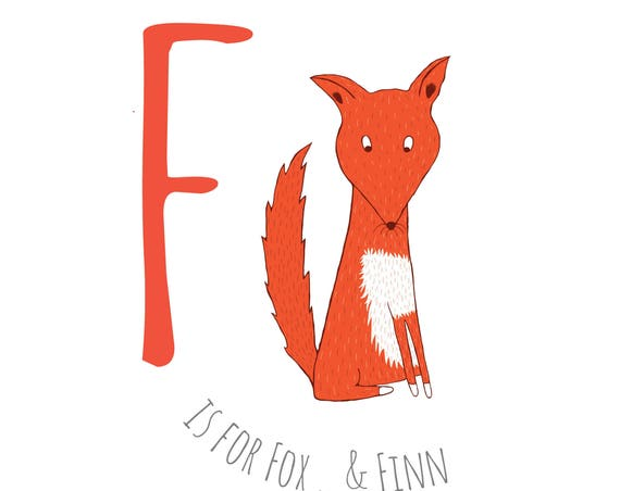 F is for Fox...