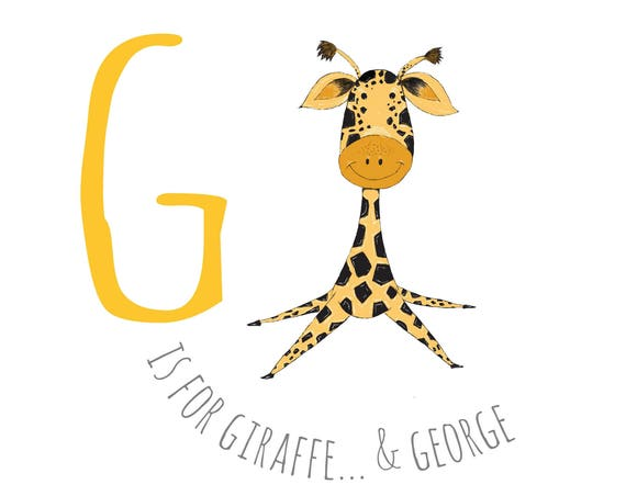 G is for Giraffe...