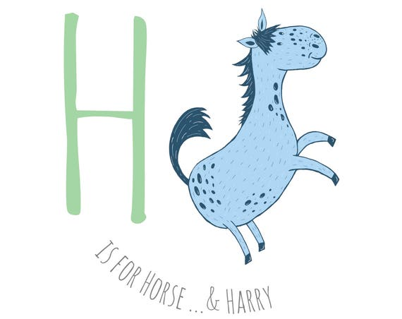 H is for Horse...