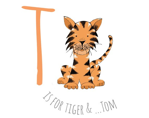 T is for Tiger...