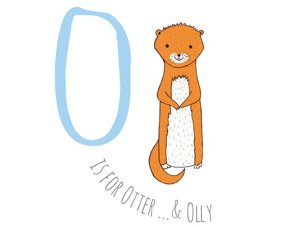 O is for Otter...