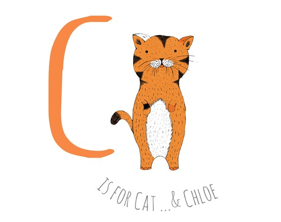 C is for Cat...
