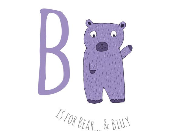 B is for Bear...