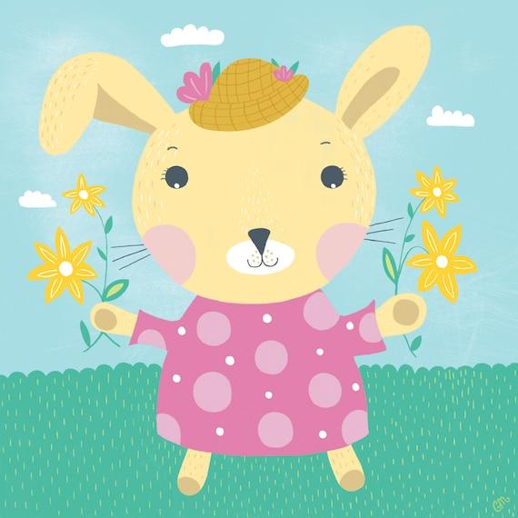 """Spring Bunny"""