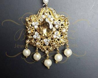Tikka. Wedding jewellery.Pakistani/indian bridal jewellery.