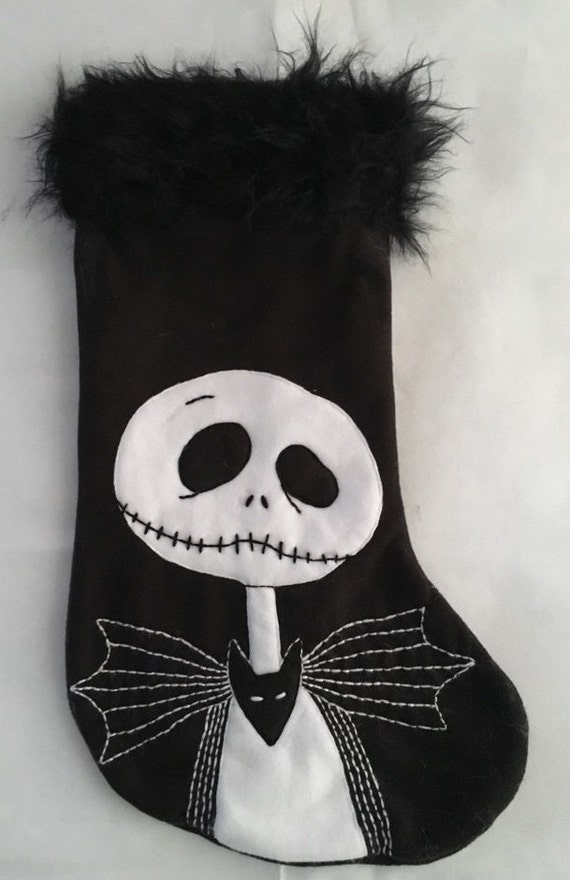 Jack (Nightmare Before Christmas) Christmas Stocking by Etsy