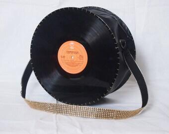 Upcycled Vinyl Record Handbag