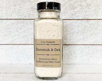 Coconut & Oat Sensitive Skin Bath Soak