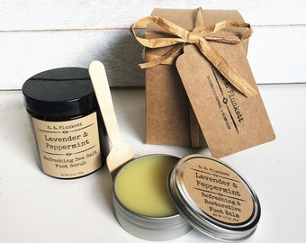 Lavender & Peppermint Foot Care Gift Set