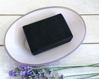 Lavender & Charcoal Facial Soap