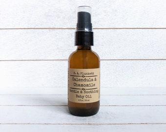 Calendula and Chamomile Baby Oil