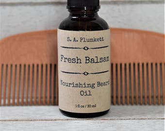 Fresh Balsam Beard Oil