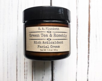 Green Tea & Rosehip Facial Cream