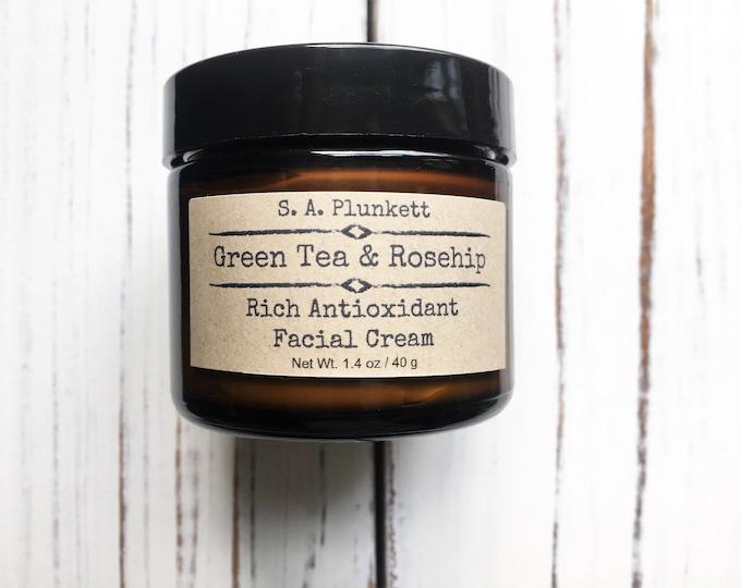 Featured listing image: Green Tea & Rosehip Facial Cream