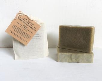 Artisan Soap - Cedarwood and Juniper - Forest Soap - Organic Bath Soap - Gift Soap - Bar Soap - soap in a bag - Men's Soap - Gift for Him
