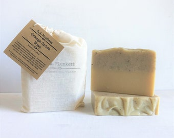 Artisan Soap - Orange Spice - Organic Bath Soap - Gift Soap - Bar Soap - soap in a bag - Holiday Soap - Gift for Him - Gift for Her
