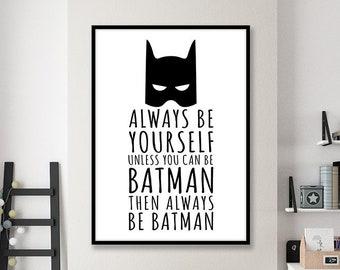 hot sale online release date good out x Batman quote   Etsy
