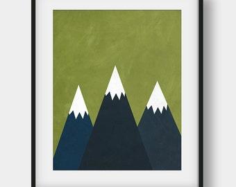 60% OFF Mountains Print, Abstract Mountains Print, The Mountains Are Calling, Mountains Art, Mountains Poster, Scandinavian, Kids Room Decor