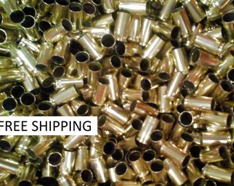 9mm Luger 1000 ct Brass Tumbled Polished Cleaned for Reloading Free Shipping