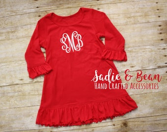 Toddler Christmas Dress Etsy