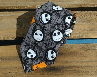 Jack Skellington Necktie, Nightmare Before Christmas Necktie, Halloween Necktie, Jack Necktie, Movie Necktie