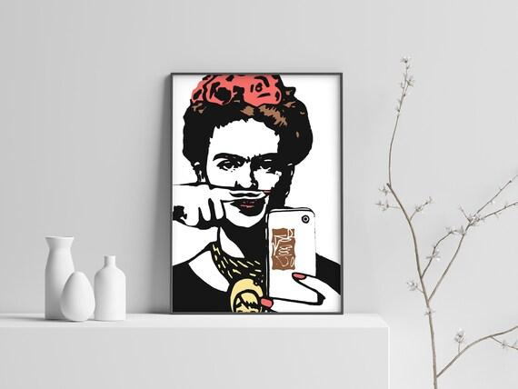 Banksy Street Artist Kate Moss Print A4 A3 A2 A1