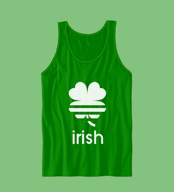 16c97fba8 Irish 4 Leaf Clover Tank Top St Patrick's Day Irish | Etsy