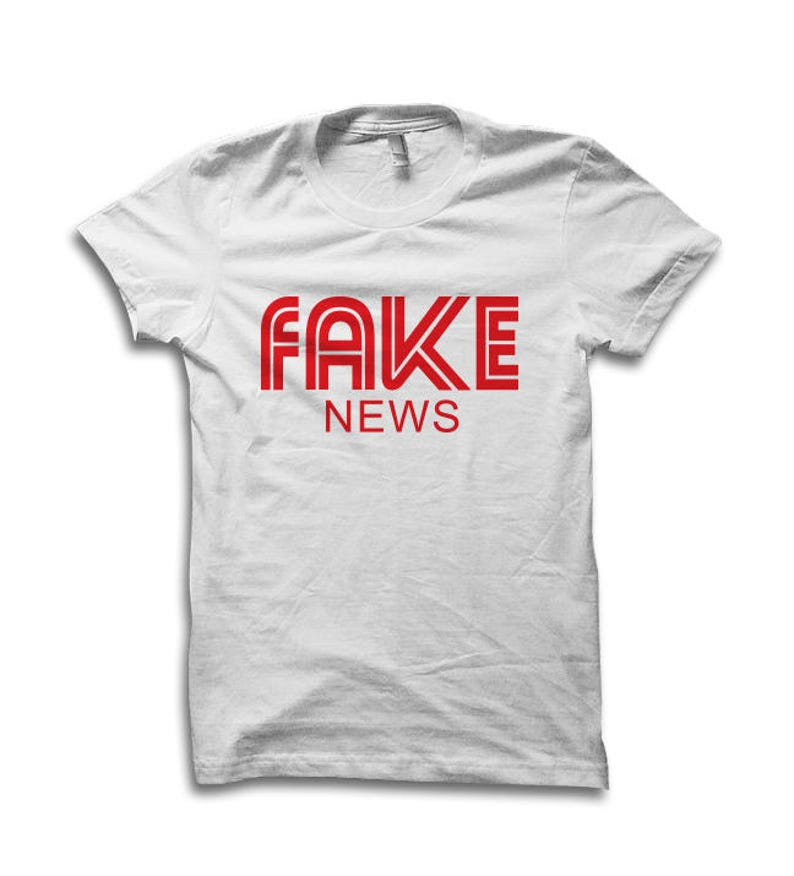 b2d3aaade Fake News T Shirt Donald Trump Shirt Handshake Gate Trump | Etsy