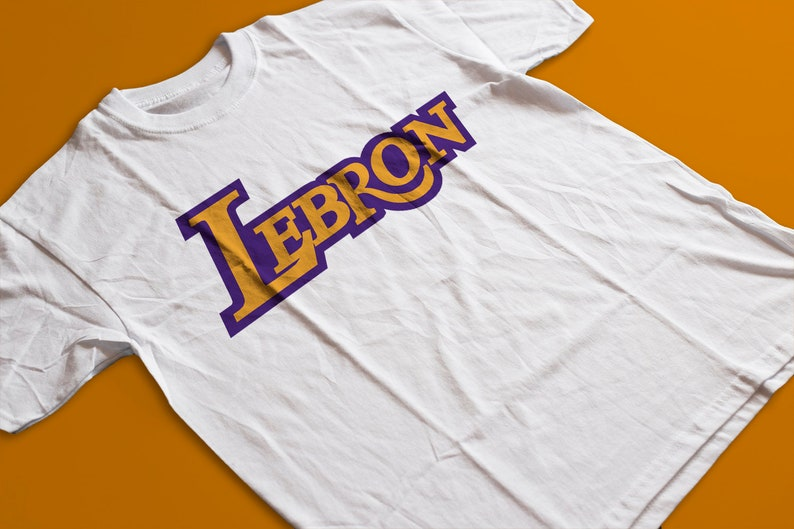 lowest price 3908c 2e504 Lebron Lakers T Shirt - LABron, Lebron Poster, Lakers Accessories, Lakers  Inspired Shirts by Raw Clothing