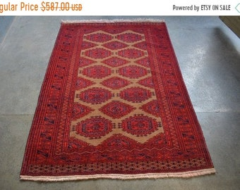 45 % OFF BIG SALE Vintage Afghan Handmade Zahir Shahi rug