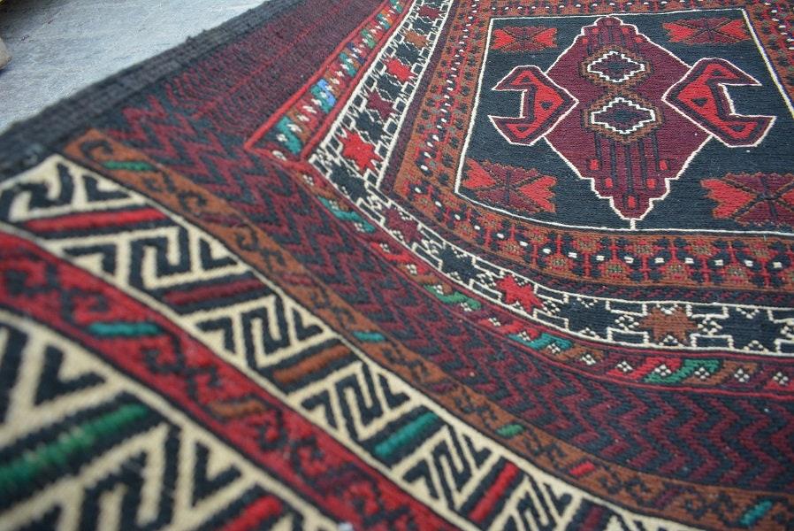 132 x 206 cm Tribal Kilim rug Afghan rug Living room rug ...